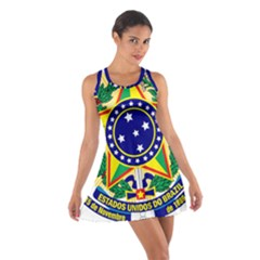 Coat of Arms of Brazil Cotton Racerback Dress