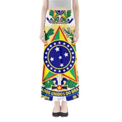 Coat of Arms of Brazil Maxi Skirts