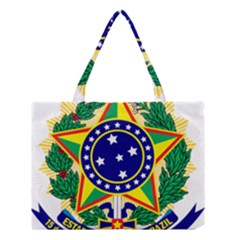 Coat of Arms of Brazil Medium Tote Bag