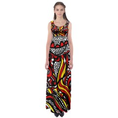 Jump Into My Fire By Wbk:  Empire Waist Maxi Dress