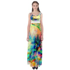 MAKE A JOYFUL NOISE  by WBK:  Empire Waist Maxi Dress