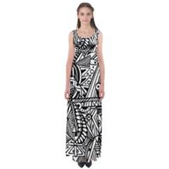 Perception  by WBK: Empire Waist Maxi Dress