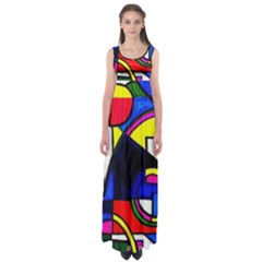 pool Party  By Wbk:  Empire Waist Maxi Dress