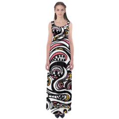EYE SEE YOU  by WBK:  Empire Waist Maxi Dress