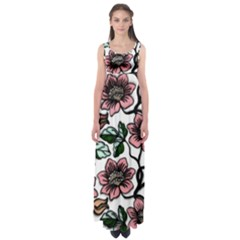 Climbing  by WBK:  Empire Waist Maxi Dress