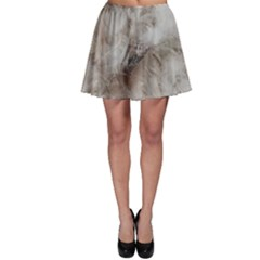 Down Comforter Feathers Goose Duck Feather Photography Skater Skirt