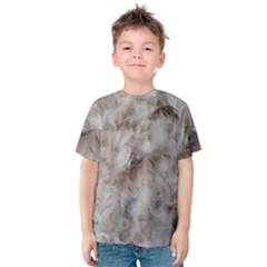 Down Comforter Feathers Goose Duck Feather Photography Kids  Cotton Tee
