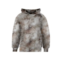 Down Comforter Feathers Goose Duck Feather Photography Kids  Pullover Hoodie