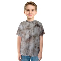 Down Comforter Feathers Goose Duck Feather Photography Kids  Sport Mesh Tee