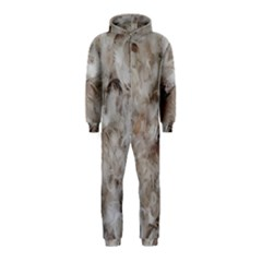 Down Comforter Feathers Goose Duck Feather Photography Hooded Jumpsuit (Kids)