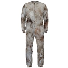 Down Comforter Feathers Goose Duck Feather Photography OnePiece Jumpsuit (Men)