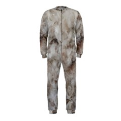 Down Comforter Feathers Goose Duck Feather Photography OnePiece Jumpsuit (Kids)