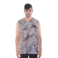 Down Comforter Feathers Goose Duck Feather Photography Men s Basketball Tank Top
