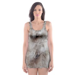 Down Comforter Feathers Goose Duck Feather Photography Skater Dress Swimsuit