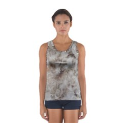 Down Comforter Feathers Goose Duck Feather Photography Women s Sport Tank Top