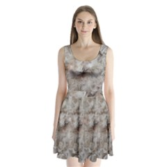 Down Comforter Feathers Goose Duck Feather Photography Split Back Mini Dress