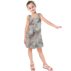 Down Comforter Feathers Goose Duck Feather Photography Kids  Sleeveless Dress