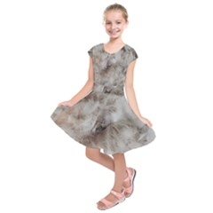 Down Comforter Feathers Goose Duck Feather Photography Kids  Short Sleeve Dress