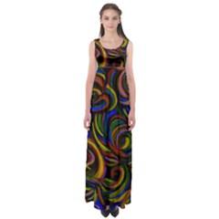 LES FLEURS  by WBK:  Empire Waist Maxi Dress