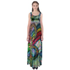 The Music In Me  by WBK:  Empire Waist Maxi Dress