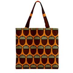 Acorn Orang Grocery Tote Bag