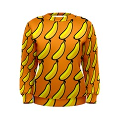 Banana Orange Women s Sweatshirt