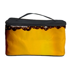 Beer Foam Yellow Cosmetic Storage Case