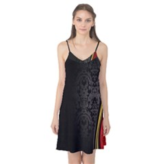 Black Red Yellow Camis Nightgown