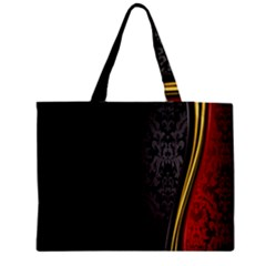 Black Red Yellow Medium Tote Bag