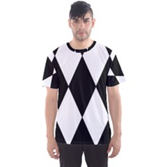 Chevron Black Copy Men s Sport Mesh Tee