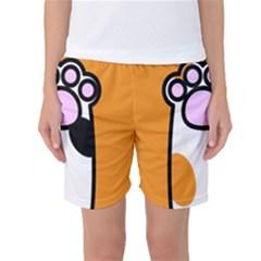 Cathand Orange Women s Basketball Shorts