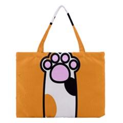 Cathand Orange Medium Tote Bag