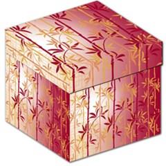 Bamboo Tree New Year Red Storage Stool 12