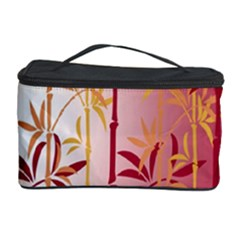 Bamboo Tree New Year Red Cosmetic Storage Case