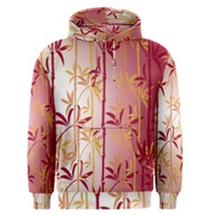 Bamboo Tree New Year Red Men s Pullover Hoodie