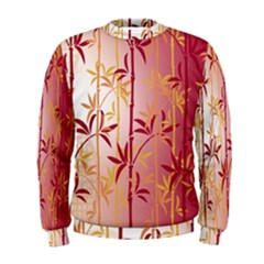Bamboo Tree New Year Red Men s Sweatshirt