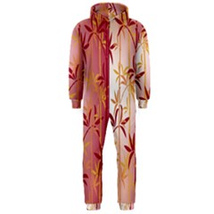 Bamboo Tree New Year Red Hooded Jumpsuit (Men)