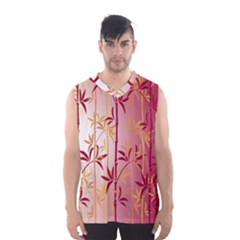 Bamboo Tree New Year Red Men s Basketball Tank Top