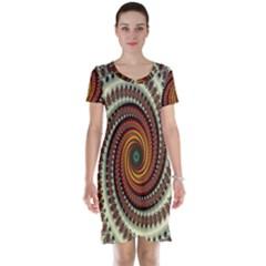 Ektremely Short Sleeve Nightdress