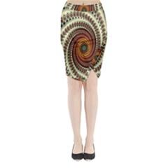Ektremely Midi Wrap Pencil Skirt