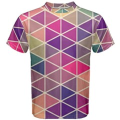 Chevron Colorful Men s Cotton Tee