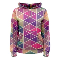 Chevron Colorful Women s Pullover Hoodie