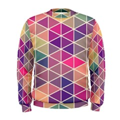 Chevron Colorful Men s Sweatshirt