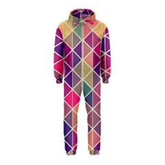 Chevron Colorful Hooded Jumpsuit (Kids)