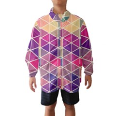 Chevron Colorful Wind Breaker (Kids)