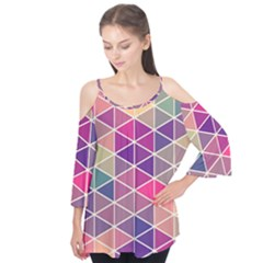 Chevron Colorful Flutter Tees