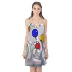 Colorful Glass Balls Camis Nightgown