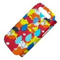 Bear Umbrella Samsung Galaxy S III Hardshell Case (PC+Silicone) View4