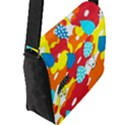 Bear Umbrella Flap Messenger Bag (L)  View2