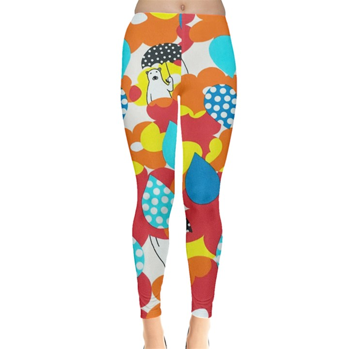 Bear Umbrella Leggings